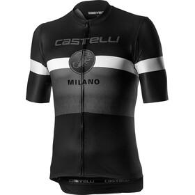 Castelli Milano Koszulka z krótkim rękawem Mężczyźni, black